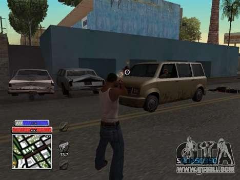 C-HUD Unique v4.1 for GTA San Andreas third screenshot