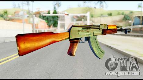AK47 from Metal Gear Solid for GTA San Andreas second screenshot