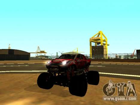 SuperMotoXL Zen MaXXimus CD 17.1 XL-HT for GTA San Andreas