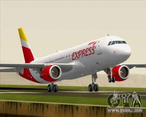 Airbus A320-200 Iberia Express for GTA San Andreas