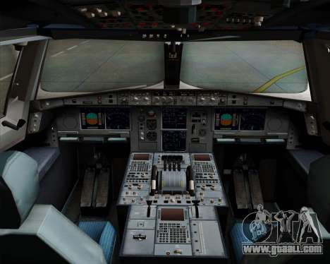 Airbus A380-800 Philippine Airlines for GTA San Andreas interior