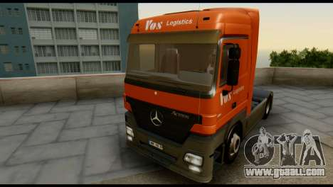 Mercedes-Benz Actros PJ1 for GTA San Andreas inner view