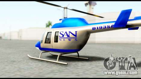 Beta News Maverick for GTA San Andreas left view