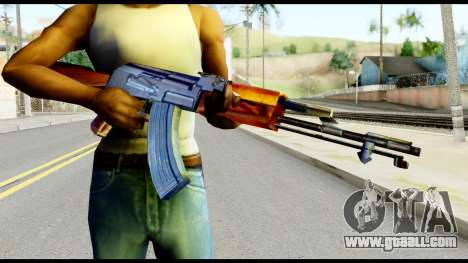 AK47 from Metal Gear Solid for GTA San Andreas third screenshot