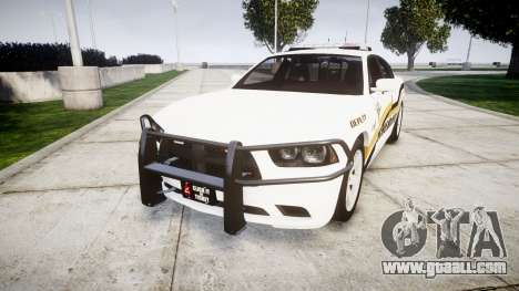 Dodge Charger 2013 Sheriff [ELS] v3.2 for GTA 4