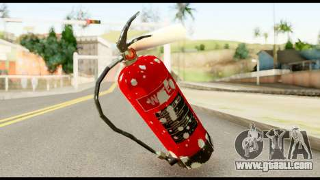 Fire Extinguisher with Blood for GTA San Andreas second screenshot