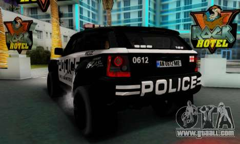 Bowler EXR S 2012 v1.0 Police for GTA San Andreas right view