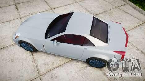 Cadillac XLR-V 2009 for GTA 4 right view