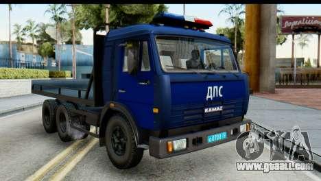 KamAZ 65115 Tow DPS for GTA San Andreas