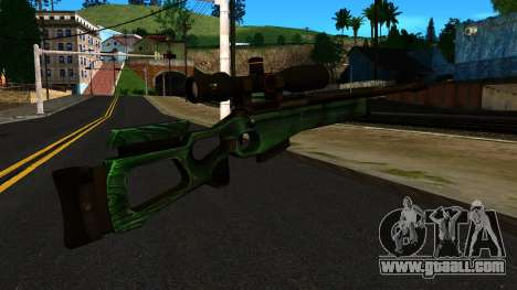 SV-98 without the Bipod and Scope for GTA San Andreas second screenshot
