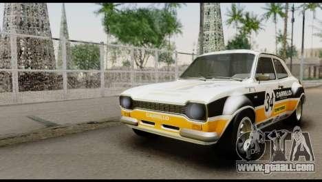 Ford Escort Mark 1 1970 for GTA San Andreas inner view