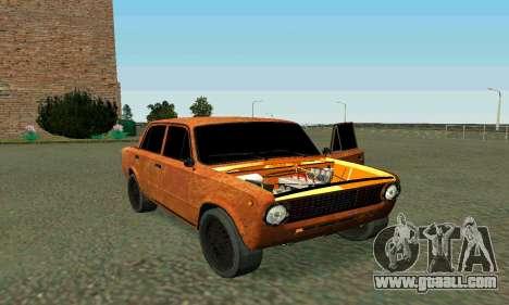 VAZ 2101 Ratlook v2 for GTA San Andreas upper view