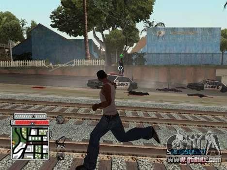 C-HUD Unique v4.1 for GTA San Andreas sixth screenshot