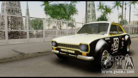 Ford Escort Mark 1 1970 for GTA San Andreas side view