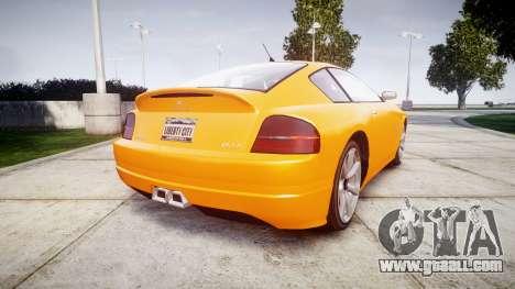 GTA V Schyster Fusilade Tuning for GTA 4