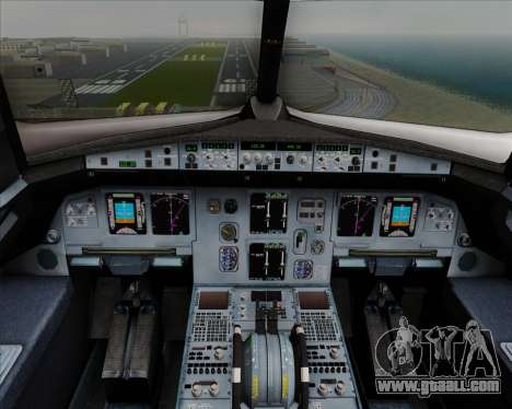 Airbus  A320-200 Delta Airlines for GTA San Andreas interior