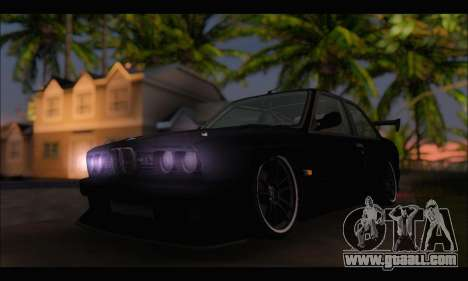 BMW E30 for GTA San Andreas right view