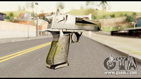 Desert Eagle from Metal Gear Solid for GTA San Andreas second screenshot