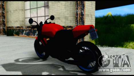 Streetfighter from Vice City Stories for GTA San Andreas back left view