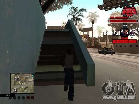 C-HUD Raisers for GTA San Andreas second screenshot