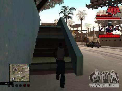C-HUD Raisers for GTA San Andreas second screenshot