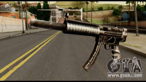 MP5 SD from Max Payne for GTA San Andreas