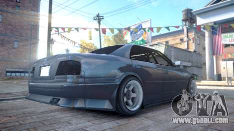 Toyota Chaser JZX100 for GTA 4 left view