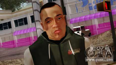 GTA 4 Skin 74 for GTA San Andreas third screenshot