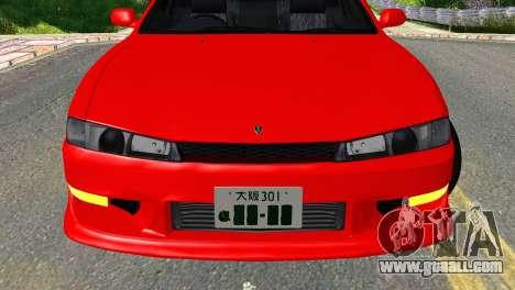 Nissan Silvia S14 Ks for GTA San Andreas back view