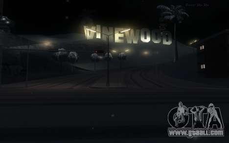 Snow Mod for GTA San Andreas third screenshot