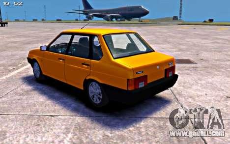 VAZ 21099 Stock for GTA 4 left view