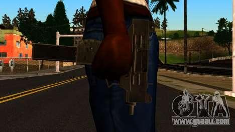 Micro SMG from GTA 4 for GTA San Andreas third screenshot