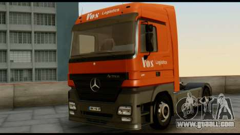 Mercedes-Benz Actros PJ1 for GTA San Andreas