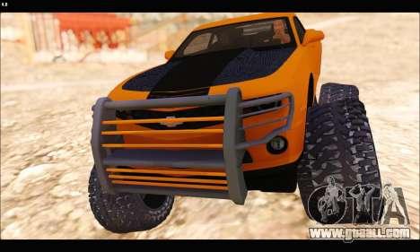 Chevrolet Camaro SUV Concept for GTA San Andreas left view
