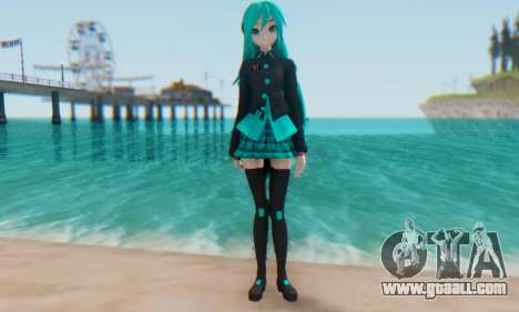 Miku Hatsune MMD for GTA San Andreas