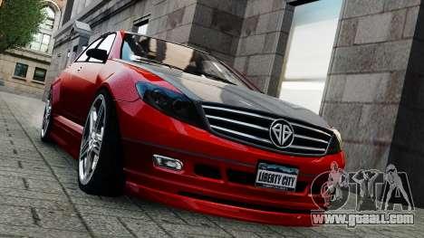 Schafter Gen. 2 Grey Series for GTA 4