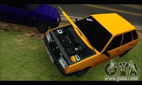 VAZ 2109 BPAN for GTA San Andreas left view