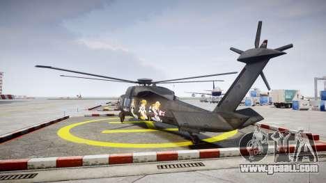 Sikorsky MH-X Silent Hawk [EPM] Printemps for GTA 4 back left view