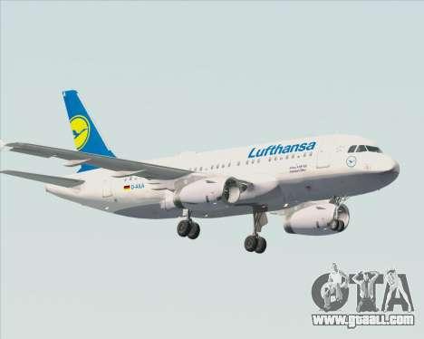 Airbus A319-100 Lufthansa for GTA San Andreas