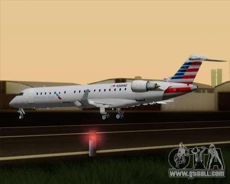 Bombardier CRJ700 American Eagle Airlines for GTA San Andreas interior