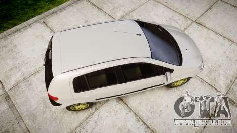 Hyundai Getz 2006 for GTA 4 right view