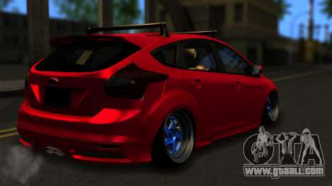Ford Focus ST for GTA San Andreas left view