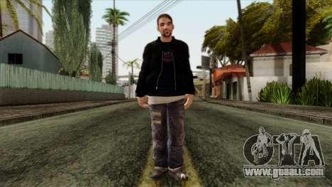 GTA 4 Skin 46 for GTA San Andreas