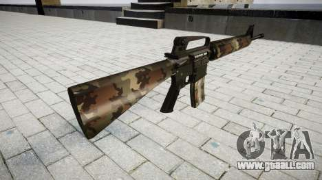 The M16A2 rifle erdl for GTA 4 second screenshot