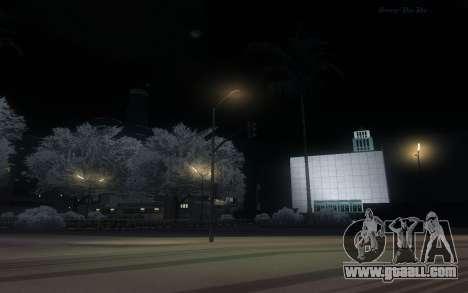 Snow Mod for GTA San Andreas forth screenshot
