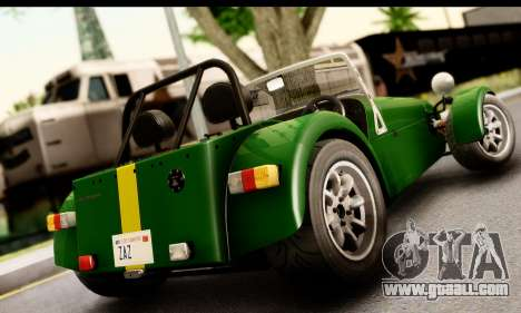 Caterham Seven 1995 for GTA San Andreas