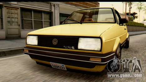 Volkswagen Jetta A2 Coupe for GTA San Andreas back view