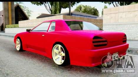 Elegy FailCrew for GTA San Andreas left view