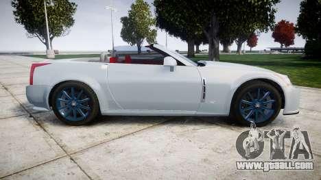 Cadillac XLR-V 2009 for GTA 4 left view