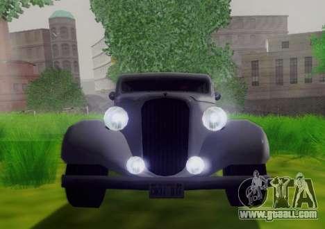 Hustler Limousine for GTA San Andreas back view